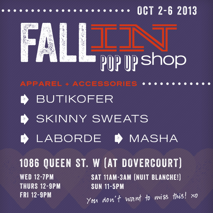 Fall In Flyer